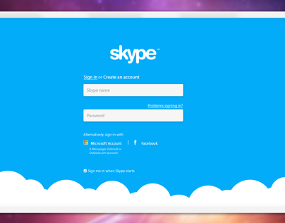 Skype UI Re-Design