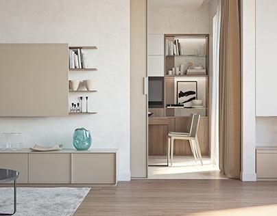 Apartment for family in Kharkov