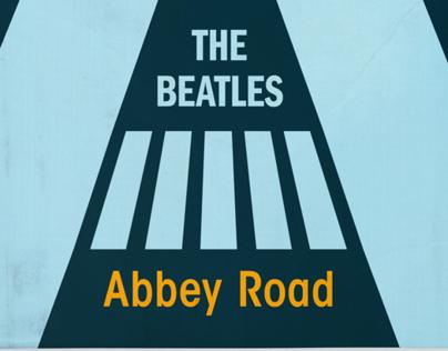 Typographic Abbey Road
