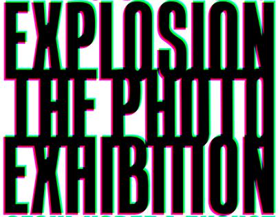 'PEACEMINUSONE EXPLOSION' - photo exhibition poster