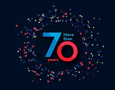 70 jaar Vandelanotte | Campagne