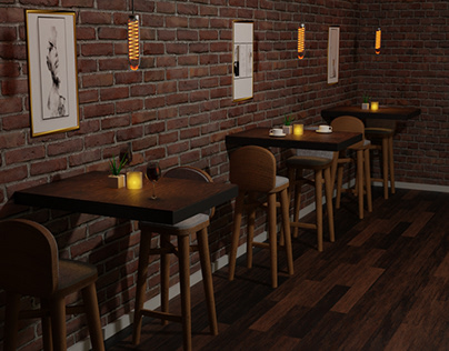 Cozy caffe interior