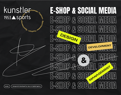 Kunstler Sports   e-Shop & Social Media