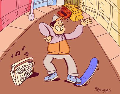 Street Style Illustration
