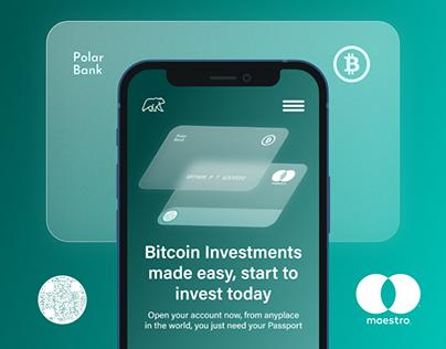 Polar Bank Web Application   UX/UI
