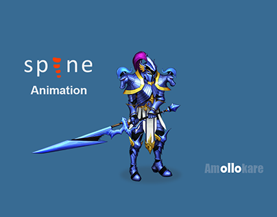 knight Spine Animation