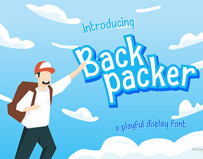 Free Backpacker Display Font