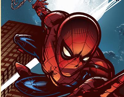 Spider-Man: Homecoming Tribute Art