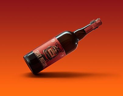 Spicy Mixtape beer label