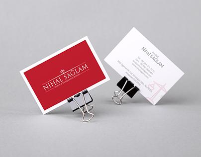 """Nihal Sağlam"""" Logo Çalışması"""