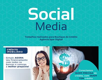 Social Media | Boutique do Crédito