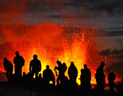 ICELAND - Eyjafjöll eruption March 2010