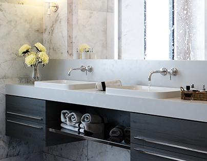 Carmencita - Bathroom detail