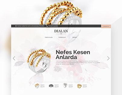 Dialan Pırlanta Web Tasarımı