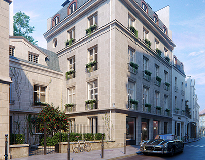 Renovation Project in Paris - 3D Visualization