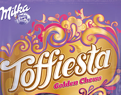 Milka - Toffees Packaging Concept
