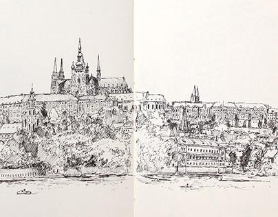 Sketchbook | Europe | July 2015