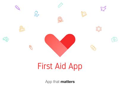 First Aid iOS App