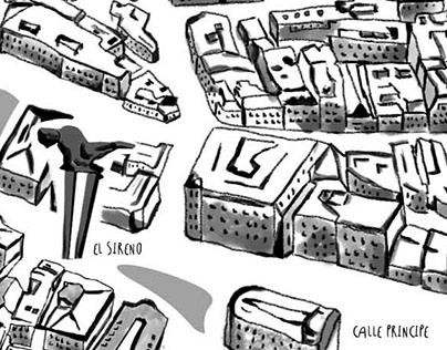 I love maps, I love Vigo