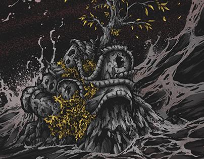 "Spaceslug - ""Eye The Tide"" album cover"