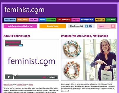 Feminist.com Refresh