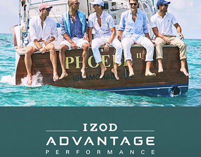 IZOD 2017 Spring Lookbook