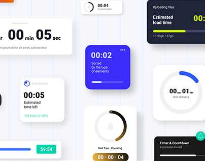 Animated Countdowns & Timers Template