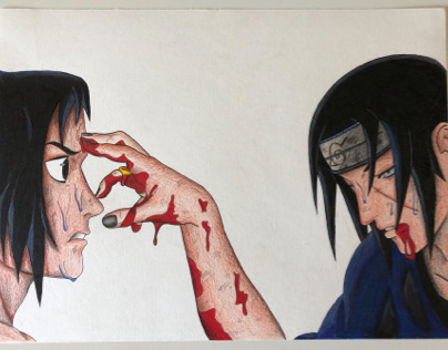 Sasuke & Itachi Ushiwa