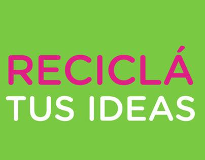 PEPSI recicla tus ideas   Web design