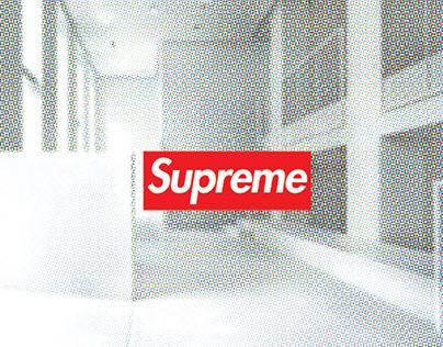 Supreme Milano Showroom