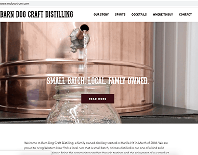 Barn Dog Craft Distilling Rebrand