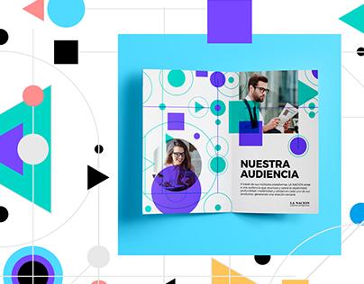 La Nación · Audiencias Protagonistas. Visual Identity