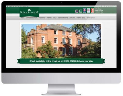 Elm Lodge Website & Branding