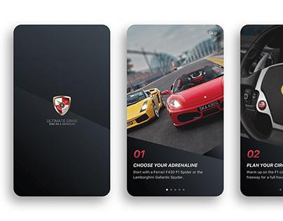 Ultimate Drive - Mobile App