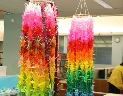 Thousand Cranes for Sandyhook