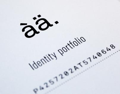Identity portfolio