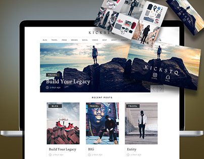 KicksTQ Web Design & Branding