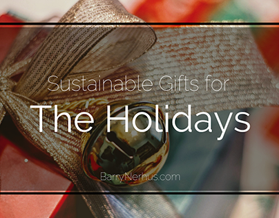 Sustainable Gifts for the Holidays