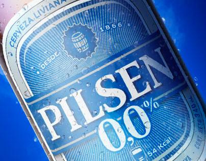 Pilsen 0.0 - Tiene todo, no tiene alcohol