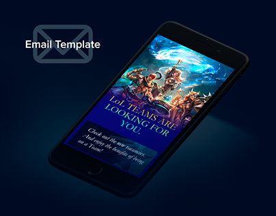 Email Template for Esport 2