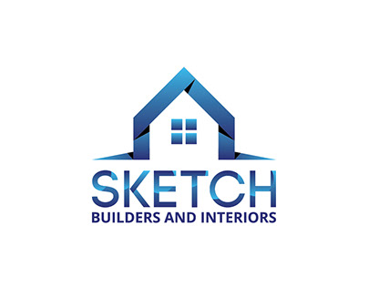 LOGO DESIGN - SKETCH BUILDERS AND INTERIORS