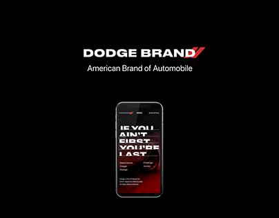 Dodge Redesign Concept