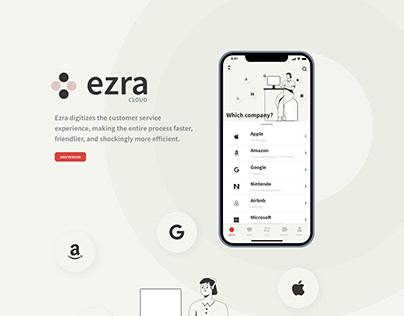 Ezra - Interface mobile application