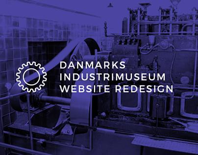 Horsens Industrial Museum Website Redesign