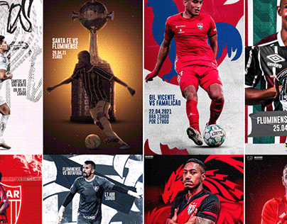 Social Media #02 | Soccer Players