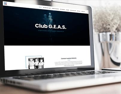 Diseño web del Club G.E.A.S.