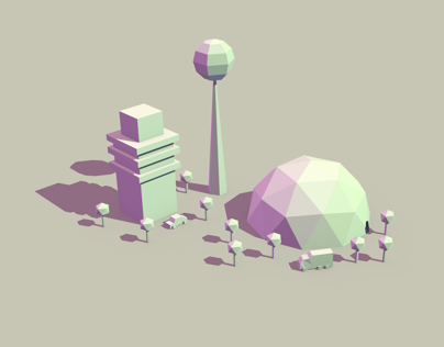 Low Poly Something