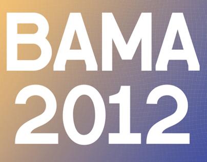 BAMA 2012 Exhibition Website