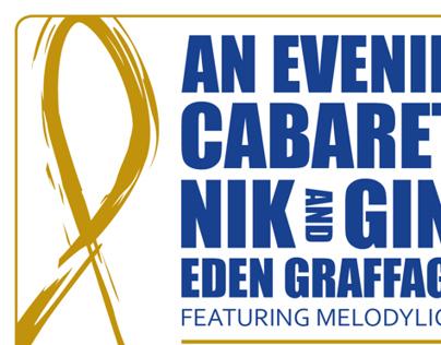 An Evening Cabaret Flyer
