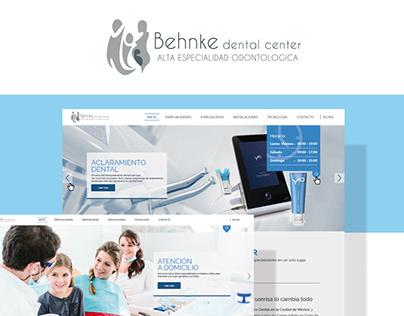Behnke - Diseño de Sitio web
